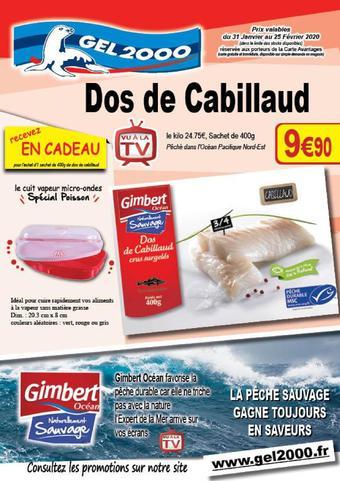Gel 2000 catalogue publicitaire (valable jusqu'au 25-02)