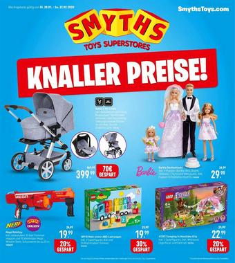 Smyths Toys Werbeflugblatt (bis einschl. 22-02)