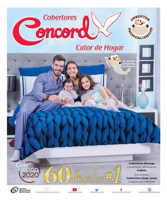 Colchas Concord catálogo (válido hasta 31-12)