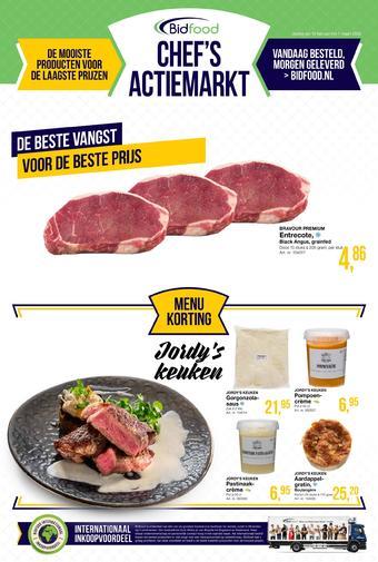 Bidfood reclame folder (geldig t/m 07-03)