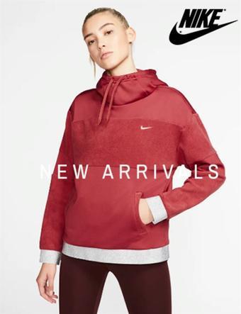 Nike reclame folder (geldig t/m 29-02)