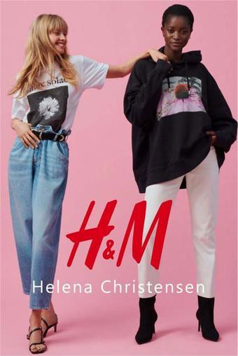 H&M reclame folder (geldig t/m 23-03)