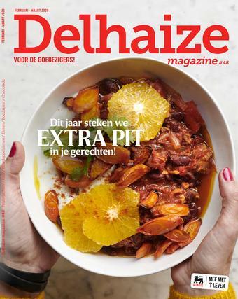 Delhaize reclame folder (geldig t/m 31-03)