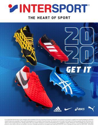 Intersport catalogue (valid until 02-04)