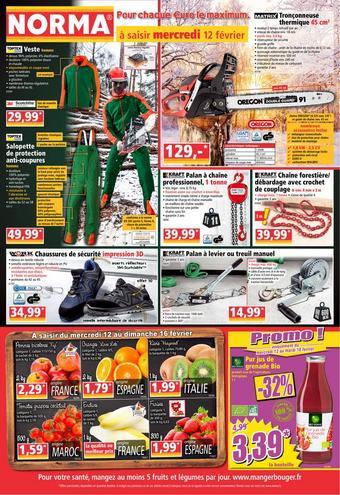 Norma catalogue publicitaire (valable jusqu'au 18-02)