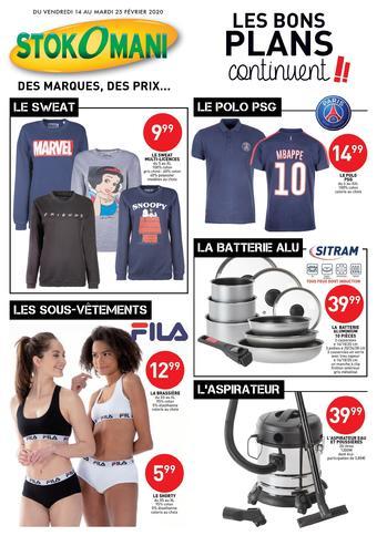 Stokomani catalogue publicitaire (valable jusqu'au 25-02)