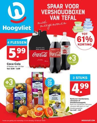 Hoogvliet reclame folder (geldig t/m 18-02)