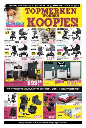 Van Asten BabySuperstore reclame folder (geldig t/m 01-03)