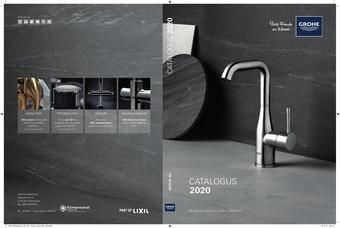 Grohe reclame folder (geldig t/m 31-12)