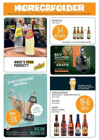 Prik en Tik reclame folder (geldig t/m 22-02)