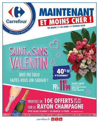 Carrefour catalogue publicitaire (valable jusqu'au 17-02)