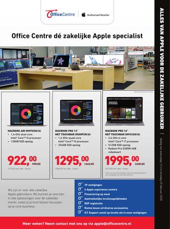 Office Centre reclame folder (geldig t/m 25-02)