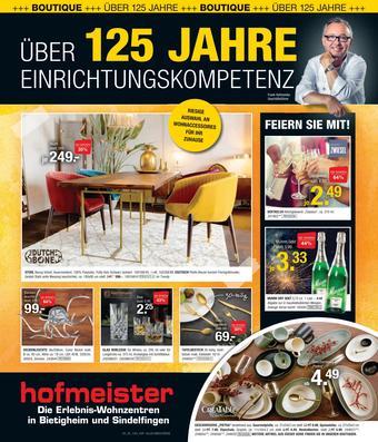 Hofmeister Prospekt (bis einschl. 18-02)