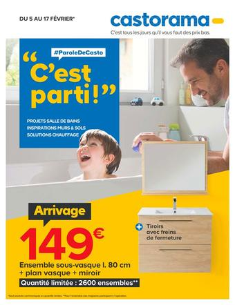 Castorama catalogue publicitaire (valable jusqu'au 17-02)