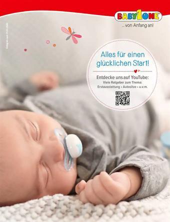 BabyOne Werbeflugblatt (bis einschl. 31-03)