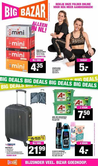 Big Bazar reclame folder (geldig t/m 23-02)