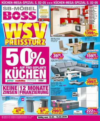 Möbel Boss Prospekt (bis einschl. 16-02)