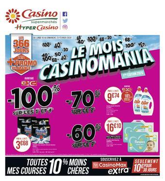 Casino Supermarchés catalogue publicitaire (valable jusqu'au 23-02)