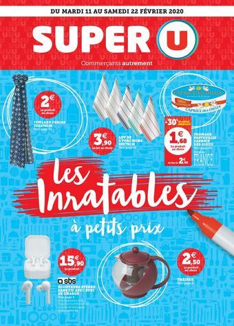 Super U catalogue publicitaire (valable jusqu'au 22-02)