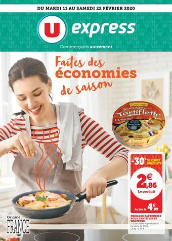 U Express catalogue publicitaire (valable jusqu'au 22-02)