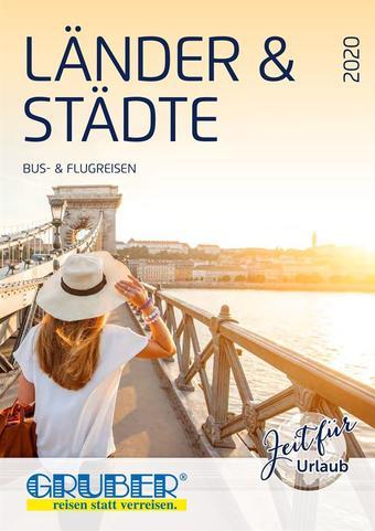 Gruber Reisen Werbeflugblatt (bis einschl. 31-12)