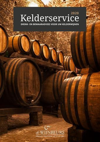 De Wijnbeurs reclame folder (geldig t/m 31-12)