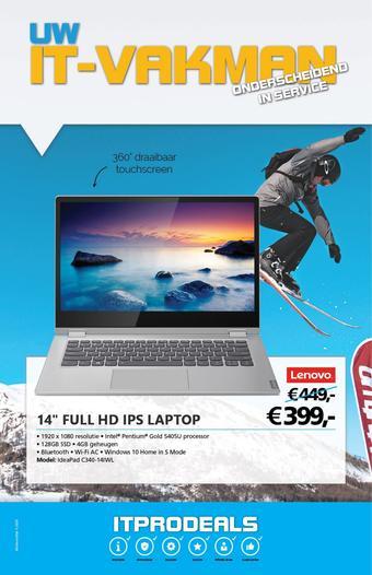 De ICT Vakman reclame folder (geldig t/m 01-03)