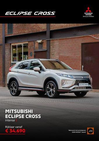 Mitsubishi reclame folder (geldig t/m 31-12)