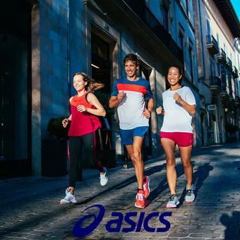 Asics catalogue publicitaire (valable jusqu'au 06-04)