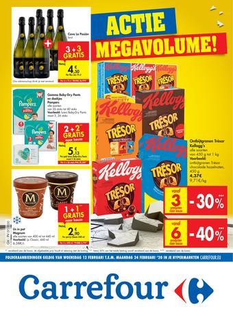 Carrefour reclame folder (geldig t/m 24-02)
