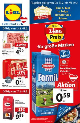 Lidl Werbeflugblatt (bis einschl. 19-02)
