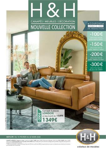 H&H catalogue publicitaire (valable jusqu'au 22-03)