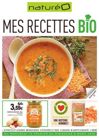 naturéO catalogue publicitaire (valable jusqu'au 08-03)