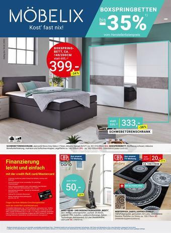 Möbelix Werbeflugblatt (bis einschl. 18-02)