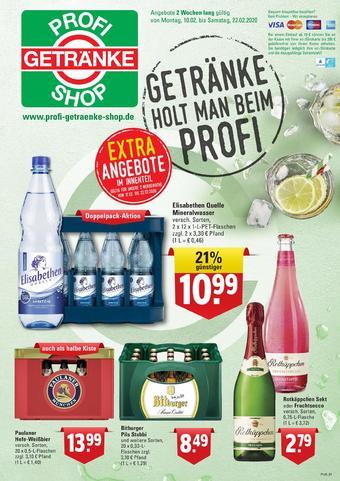Profi Getränke Prospekt (bis einschl. 22-02)