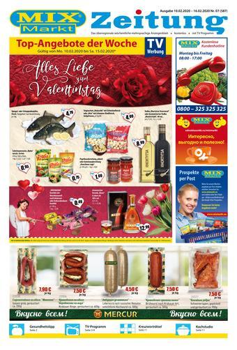 Mix Markt Prospekt (bis einschl. 16-02)