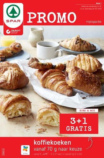 Spar Colruyt reclame folder (geldig t/m 26-02)
