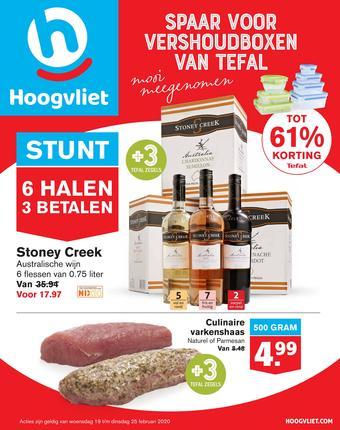 Hoogvliet reclame folder (geldig t/m 25-02)