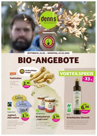 denn's Biomarkt Prospekt (bis einschl. 25-02)