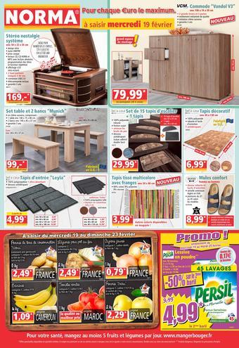 Norma catalogue publicitaire (valable jusqu'au 25-02)