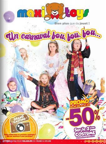Maxi Toys catalogue publicitaire (valable jusqu'au 01-03)
