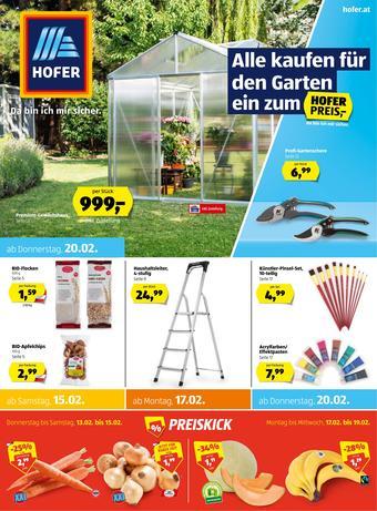 Hofer Werbeflugblatt (bis einschl. 22-02)