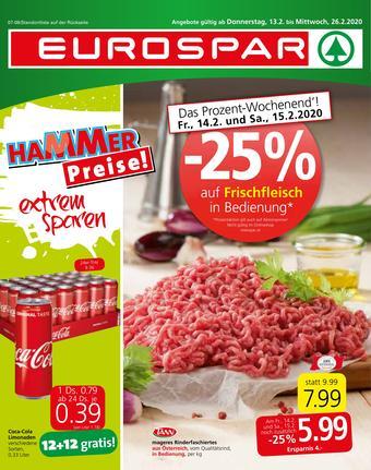 Eurospar Werbeflugblatt (bis einschl. 26-02)