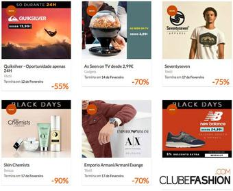 Clubefashion folheto promocional (válido de 10 ate 17 17-02)