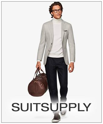 Suitsupply reclame folder (geldig t/m 13-05)