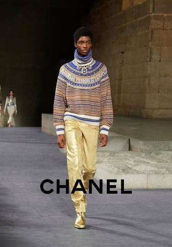 Chanel reclame folder (geldig t/m 30-03)