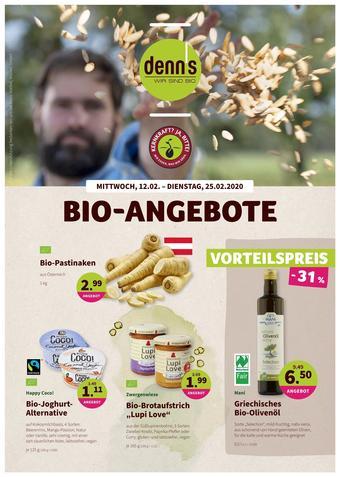 Denn's Biomarkt Werbeflugblatt (bis einschl. 25-02)