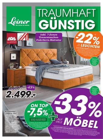 Leiner Werbeflugblatt (bis einschl. 18-02)