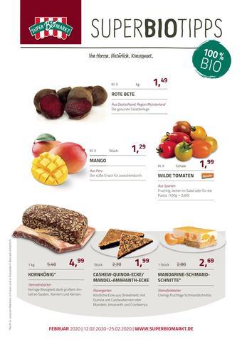 Superbiomarkt Prospekt (bis einschl. 25-02)