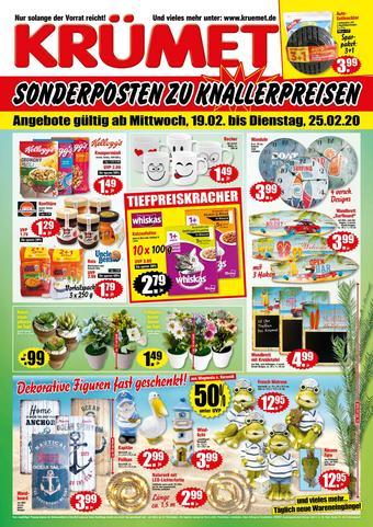 Krümet Sonderposten Prospekt (bis einschl. 25-02)